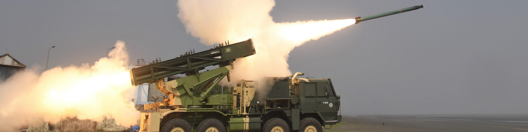 Enhanced version of PINAKA Rocket System successfully Flight