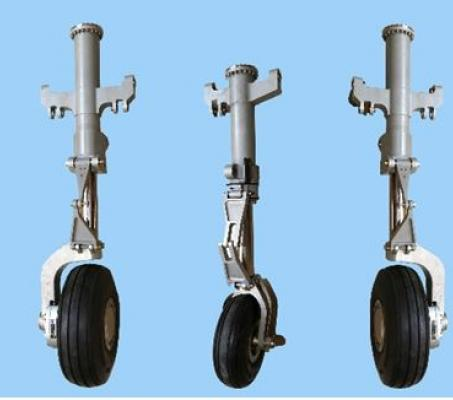 Retractable Landing Gear System for  Rustom II (TAPAS) UAV