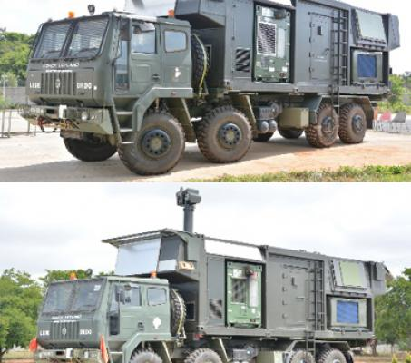 Radars for Ground based SAM systems