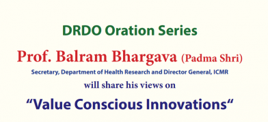 New Time: Invitation to attend DRDO Oration by…
