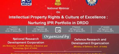 Dte of ER & IPR in collaboration with NRDC,…