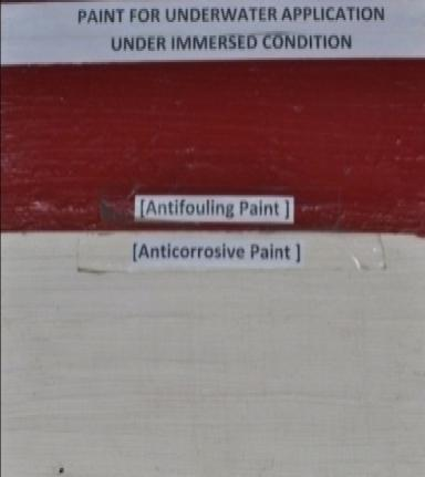 Anticorrosive and Antifouling Paint for application under Immersed Condition