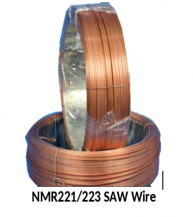 Special Alloyed Wire for Submerged Arc and Gas Metal Arc Welding of DMR Grade Shipbuilding Steels