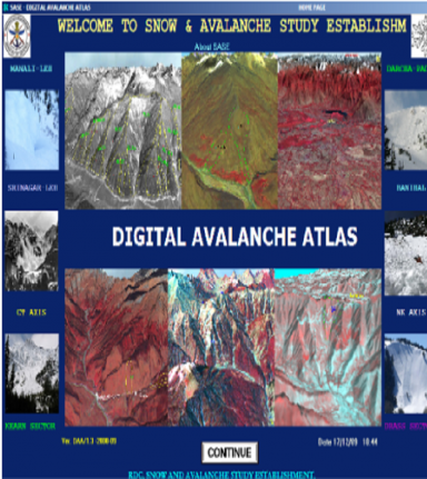 Digital Avalanche Atlas