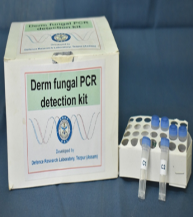 Fungal PCR detection kit developed by DRL for use by armed forces and civil sectors