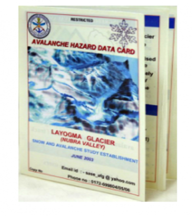 Avalanche Hazard Data Cards