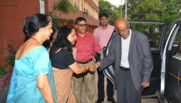 Visit of Dr VS Arunachalam