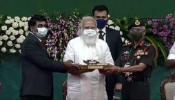 PM hands over Arjun Main Battle Tank (MK-1A) to the Army