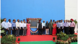 Inauguration of the hanger for FTB and AWACS (I) by Dr. S Christopher, Chairman and Secretary DD (R&D) on 9th May 2017