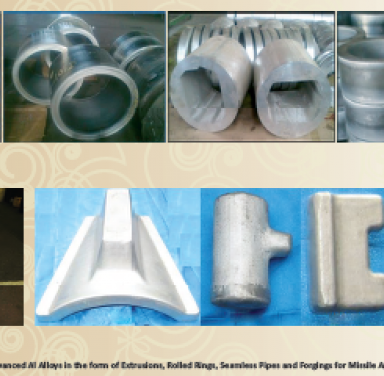 Advanced Al Alloys in the form of Extrusions, Rolled Rings, Seamless Pipes and Forgings for Missile Applications
