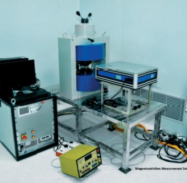 Magnetostriction Measurement Set-up for Thin Films