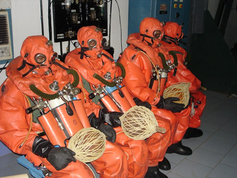 Submarine Escape Suit